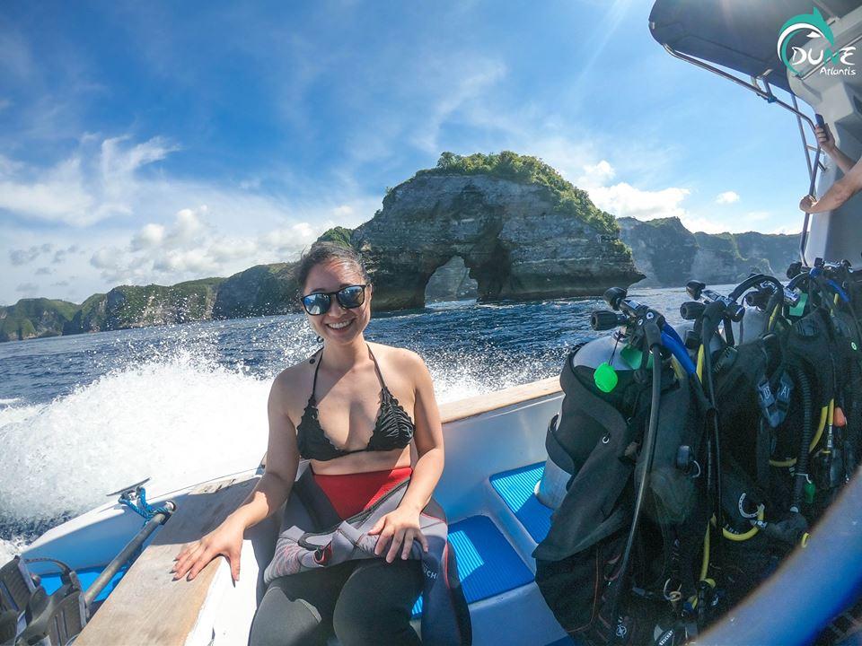 Safari Bali plongée: garder les équipements de plongée en sécurité