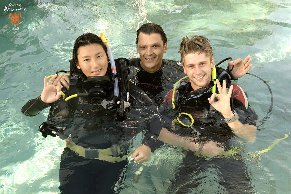 Plonger à Bali : obtenir son open water Bali