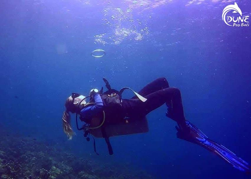 Une journée de plongée à Bali