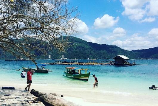 Les plages à Lampung sont belles !